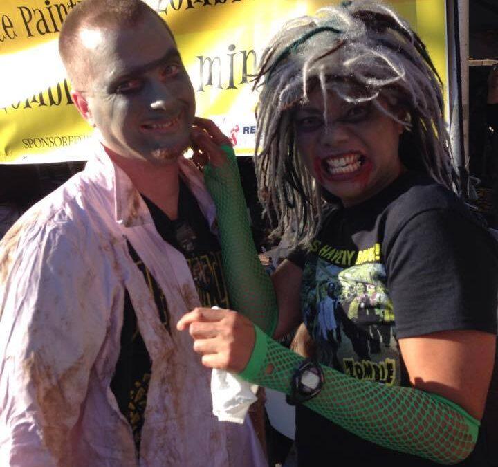 Zombie Fest Makeup Team